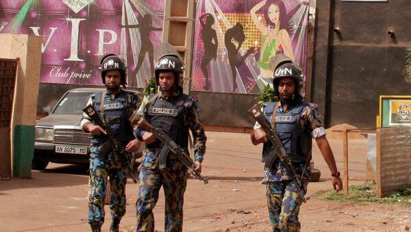 Сотрудники полиции Мали. Архивное фото