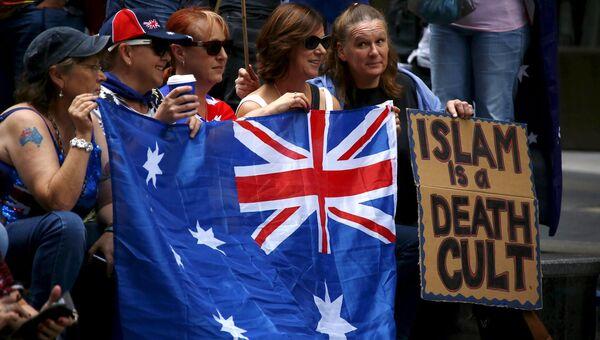 Акции протеста в Австралии