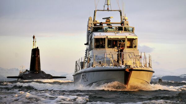 Сторожевой катер ВМС Великобритании
