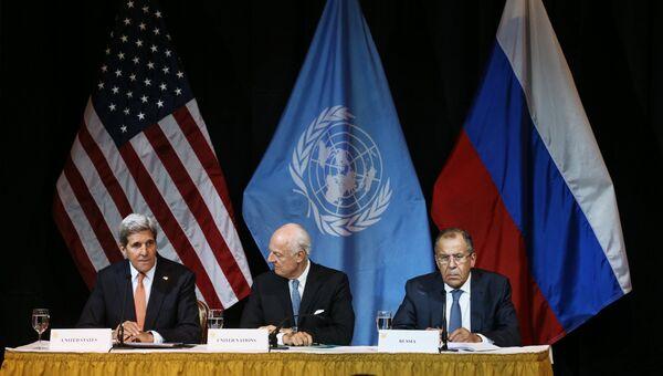 С.Лавров принял участие во встрече по вопросам сирийского урегулирования в Вене