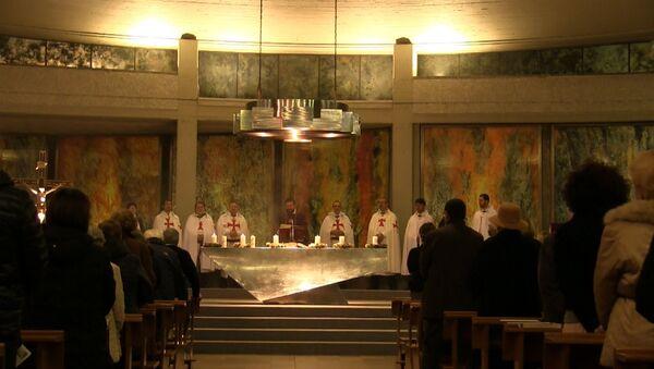 Итальянские тамплиеры помолились за жертв парижских терактов в Милане