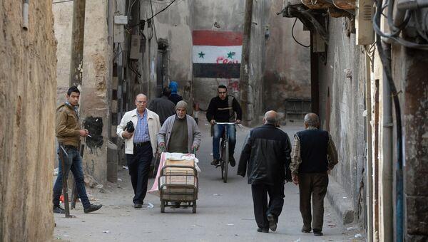 Дамаск. Старый город. Архивное фото