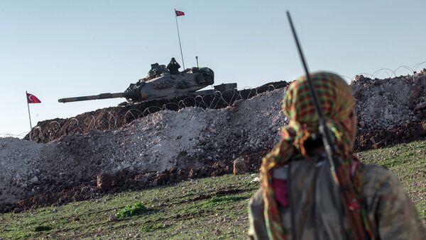 Танк турецкой армии. Архивное фото