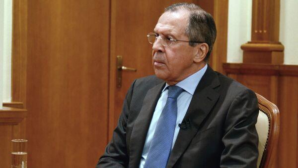 Министр иностранных дел Российской Федерации Сергей Лавров. Архивное фото.