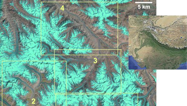 Четыре ледника, за которыми следили ученые на протяжении 20 лет