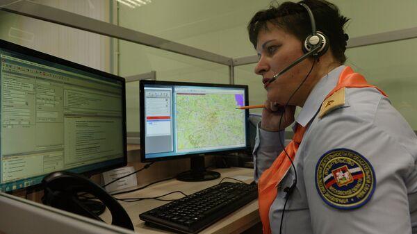 Диспетчер по обработке вызовов экстренных оперативных служб по единому номеру 112