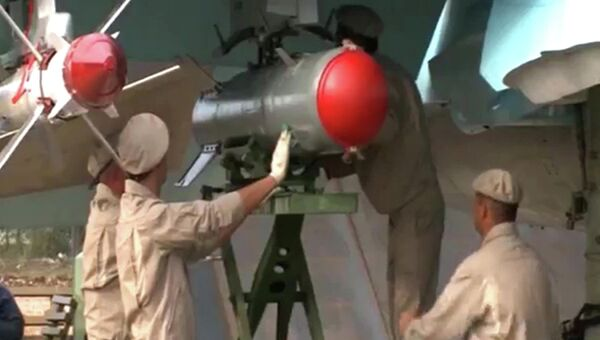Подготовка и боевые вылеты Су-34, вооруженных ракетами воздух-воздух