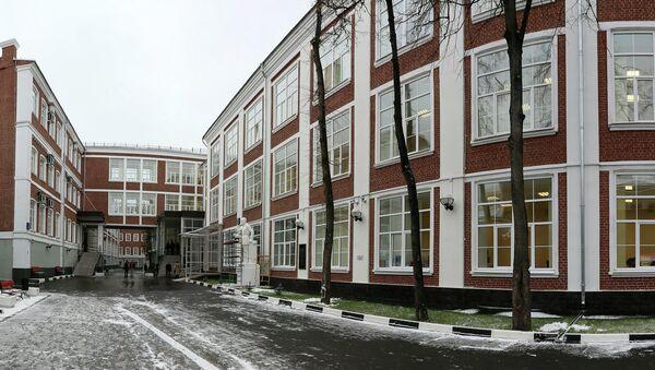 Здание Высшей школы экономики (ВШЭ). Архивное фото