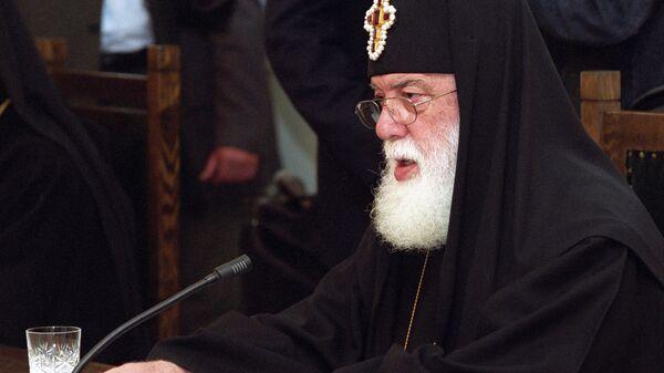 Католикос-Патриарх всея Грузии Илия II. Архивное фото