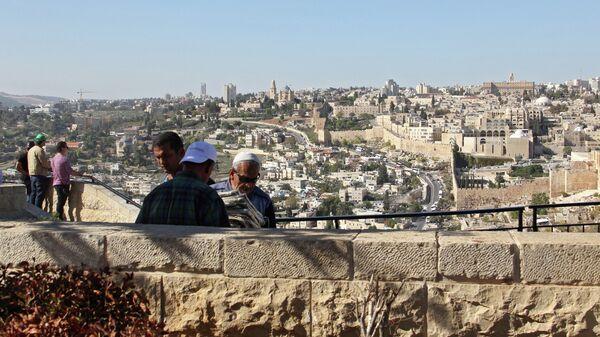 Вид на Иерусалим. Архивное фото