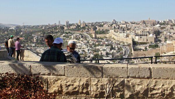 Вид на Иерусалим с Масличной горы. Архивное фото