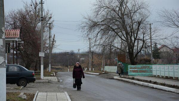 Село Желтое (на линии соприкосновения), ЛНР