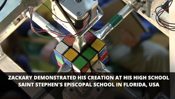 Робот поставил рекорд по сборке кубика Рубика