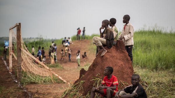 Дети в Демократической республике Конго