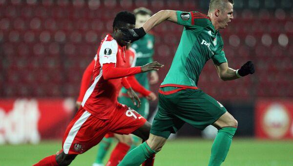 Футболисты Локомотива разгромили Скендербеу и вышли в плей-офф ЛЕ