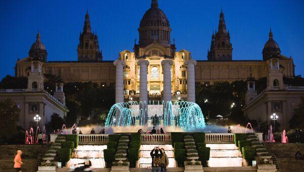 Национальный музей искусств Каталонии в Барселоне. Архивное фото
