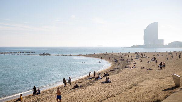 Городской пляж в Барселоне