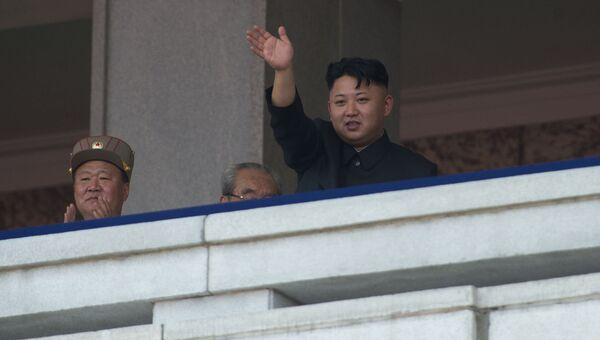 Первый секретарь Центрального комитета Трудовой партии Кореи Ким Чен Ын. Архивное фото