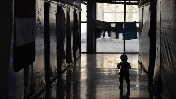 Ребенок-беженец. Архивное фото