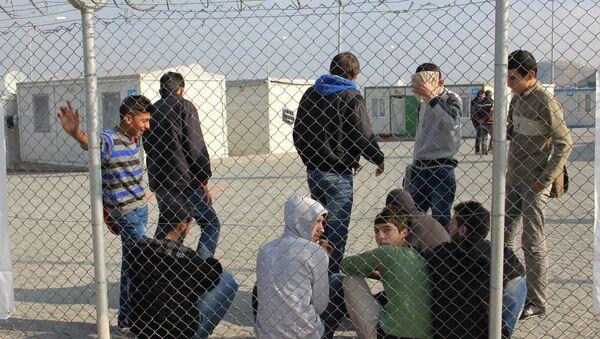 Лагерь сирийских беженцев. Архивное фото