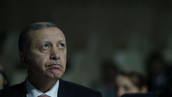 Президент Турции Реджеп Тайип Эрдоган, архивное фото