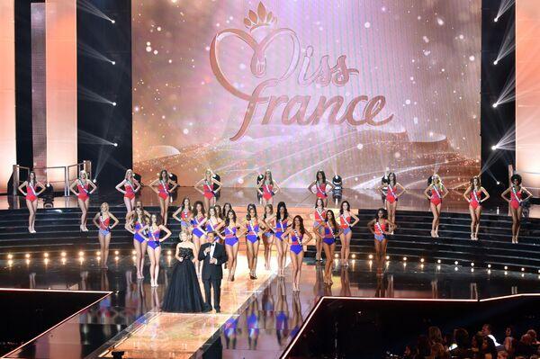 Участницы конкурса Мисс Франция-2016