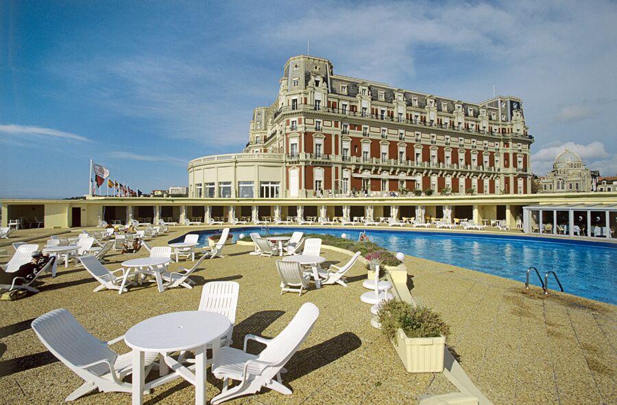 Отель Палас на французском курорте Биарриц