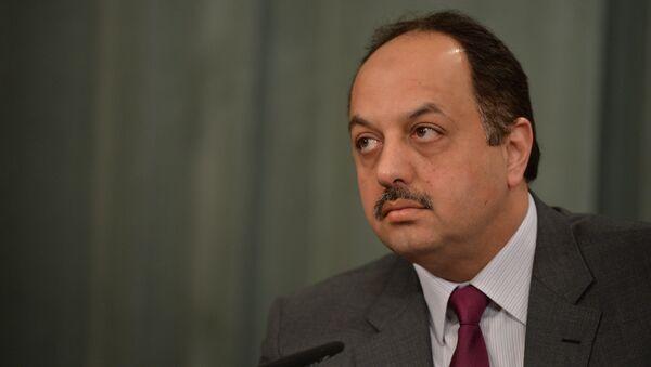 Министр иностранных дел Катара Халед Бен Мухаммед Аль-Атыйи