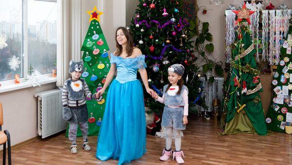 Арт-парад Елки-2015 в детских больницах Москвы