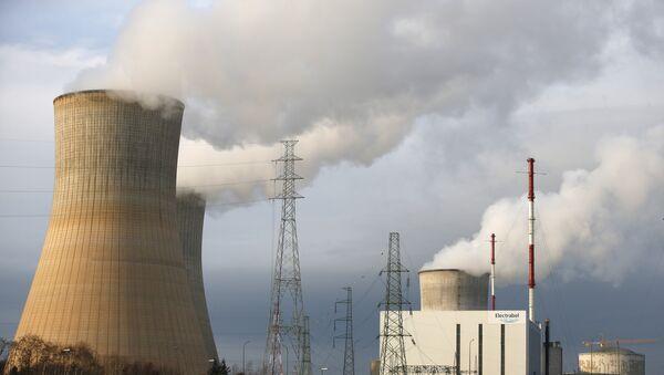 Реактор АЭС в Бельгии. Архивное фото
