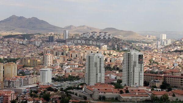 Вид на Анкару, Турция. Архивное фото