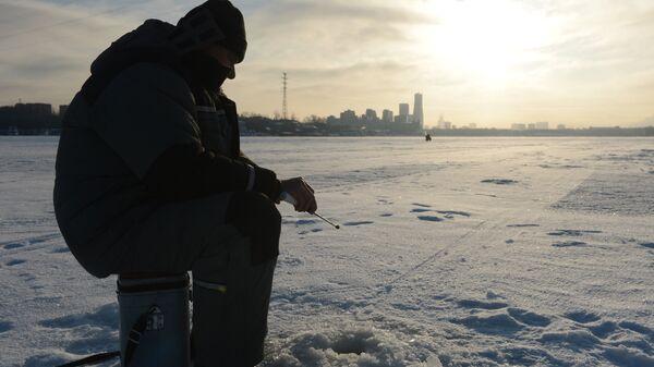 Рыбалка зимой. Архивное фото