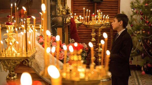 Празднование Рождества Христова в городах России