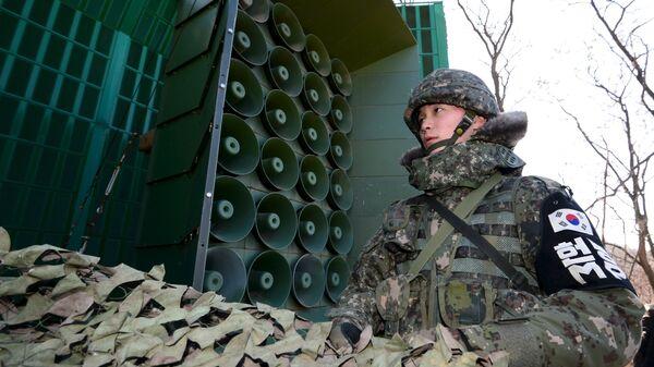 Южнокорейский военнослужащий