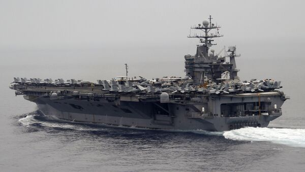 Авианосец ВМС США Гарри Трумэн. Архивное фото