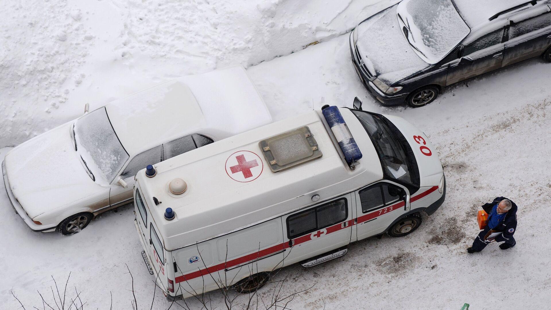 Машина скорой медицинской помощи - РИА Новости, 1920, 17.02.2021