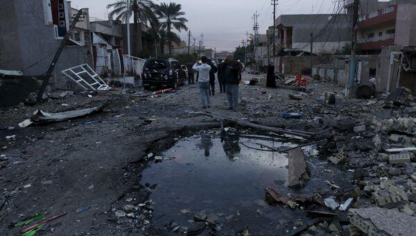 Последствия взрыва в Багдаде, Ирак