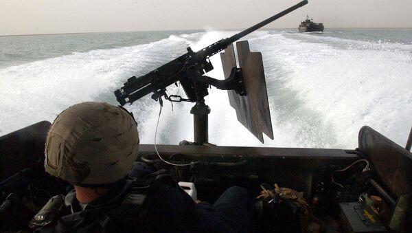 На борту Riverine Command Boat американских ВМС. Архивное фото