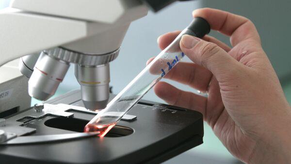 Вирусологическая лаборатория. Архивное фото