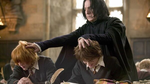 Кадр из фильма Гарри Поттер: Кубок Огня