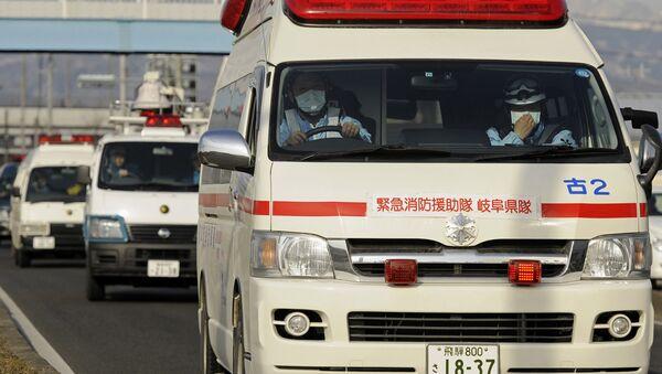 Скорая помощь в Японии. Архивное фото