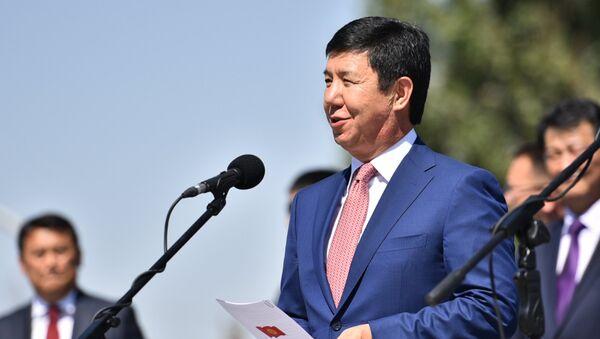Премьер-министр Киргизской Республики Темир Сариев. Архивное фото