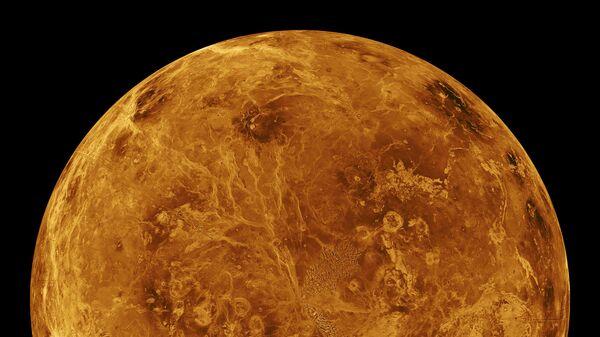 Планета Венера. Архивное фото