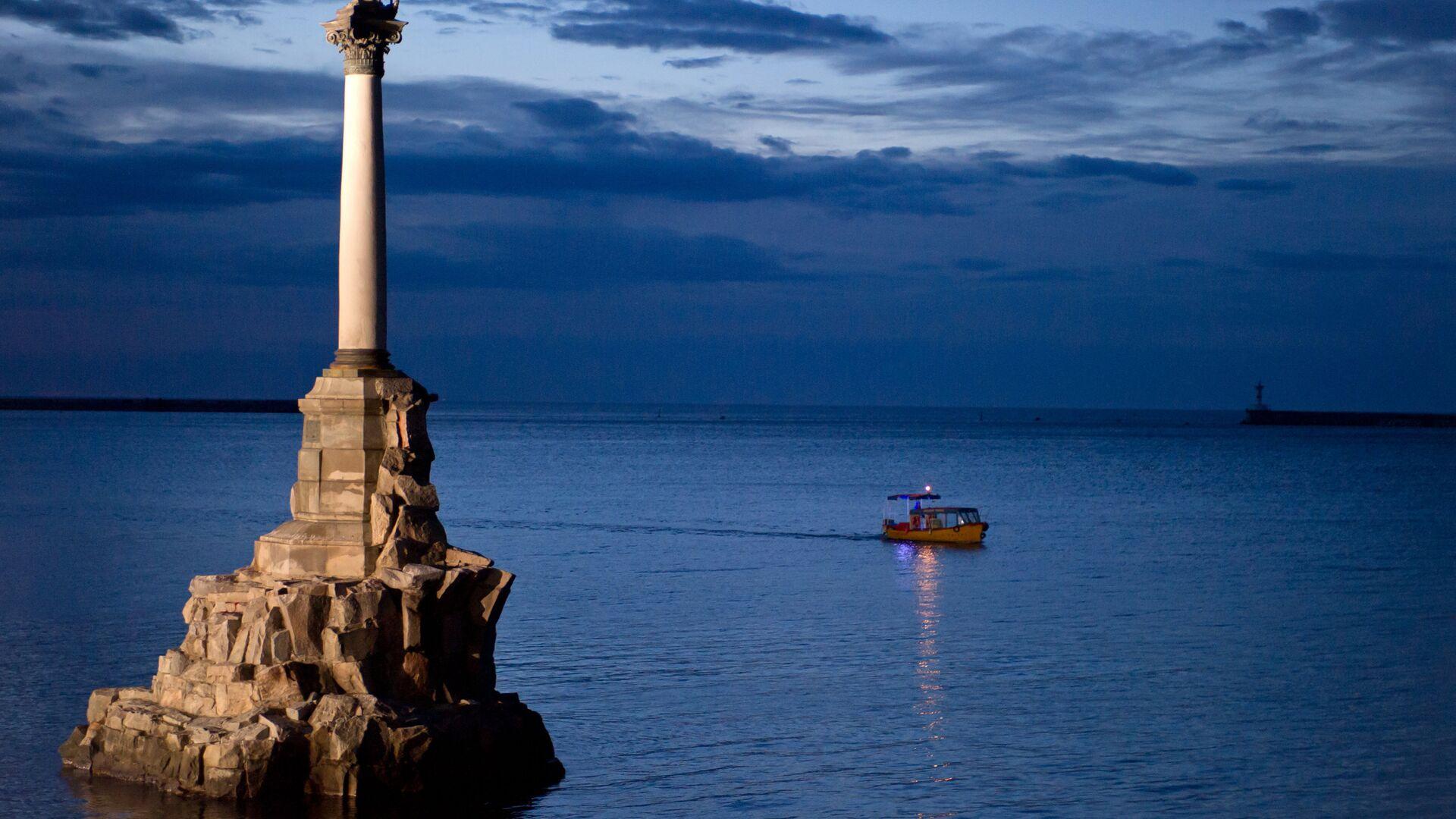 Памятник затопленным кораблям в Севастополе - РИА Новости, 1920, 20.03.2021