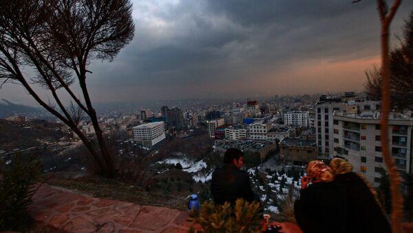 Вид на Тегеран. Иран. Архивное фото