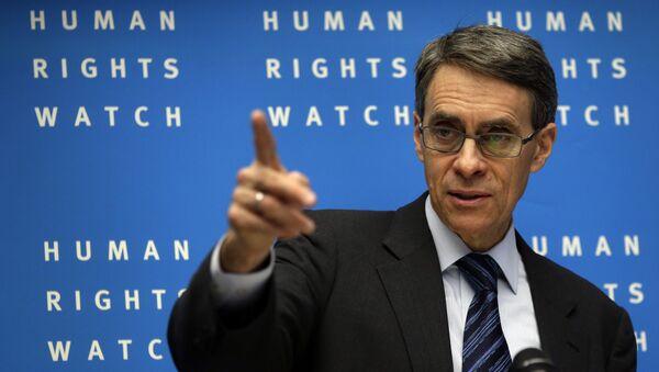 Исполнительный директор HRW Кеннет Рот. Архивное фото