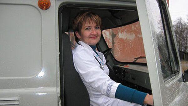Главный врач поликлиники Толвуйская амбулатория Татьяна Балехова
