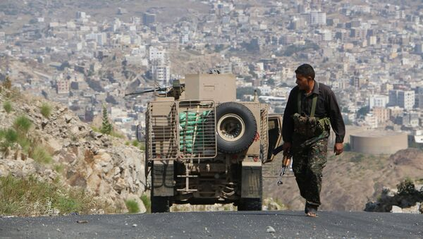 Ситуация в городе Таиз в Йемене. Архивное фото