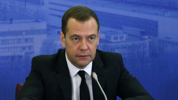 Председатель правительства России Дмитрий Медведев. Архивное фото