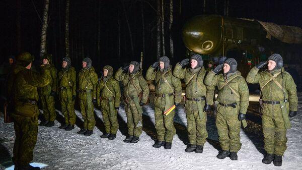 Военнослужащие РВСН